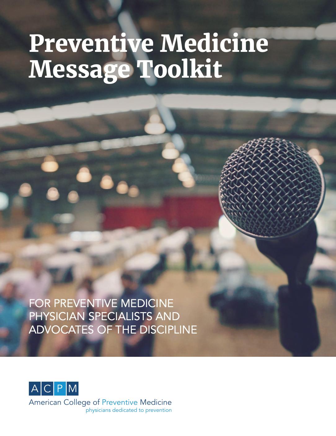 Preventive Medicine Message Toolkit microphone picture