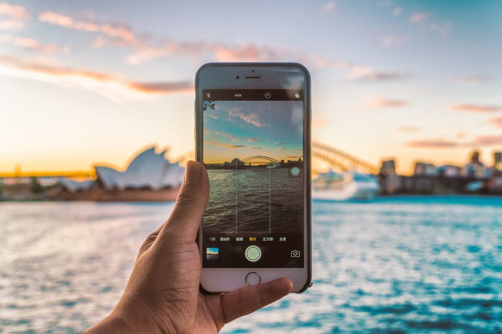 Phone in Sydney